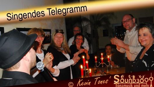 Singendes Telegramm Berlin O SOUND3000